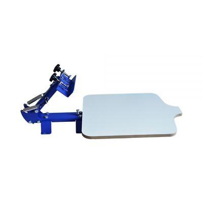 1 Station Silk Screen Printing Machine Single Color T-shirt Press Printer