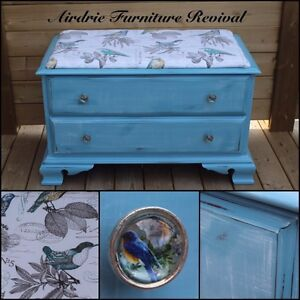 One of a kind furniture pieces!