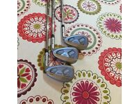 Ping anser wedges 52-56-60 amazing spinner shafts SOLD