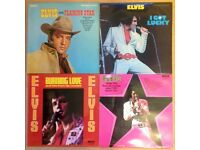 "Elvis ""Rca International"" LPs 1st issues from the early 70s"