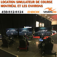 RACE / FLIGHT SIMULATORS WITH D-BOX ACTUATORS RENTAL SERVICES Longueuil / South Shore Greater Montréal Preview