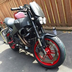 2009 Buell lightning xb9 cherry bomb edition