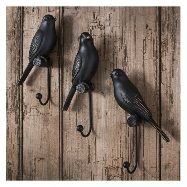 1 x Avery Resin Birds - Set Of 3 by Gallery Direct