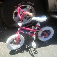 Small girls bike