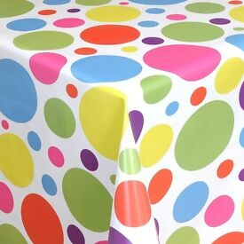OILCLOTH TABLE CLOTH wipe clean