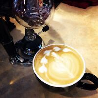 We r hiring experienced coffee barista and PT server