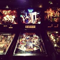 Pinball machines wanted please! Any condition.