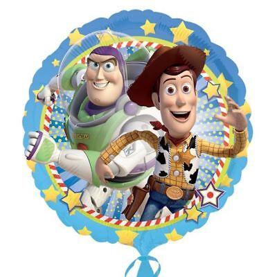 45.7cm Disney Pixar Toy Story Buzz & Woody Runder Folienballon ()