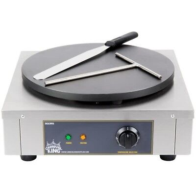 16 Inch Heavy Duty Commercial Stainless Steel Electric Crepe Pan Maker Dessert
