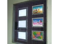 2x3 landscape led window card displays