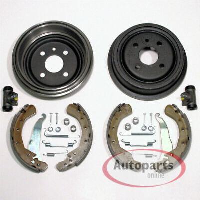 Opel Vectra A Bremsscheiben Bremsen Set vorne Bremstrommeln hinten Radzylinder