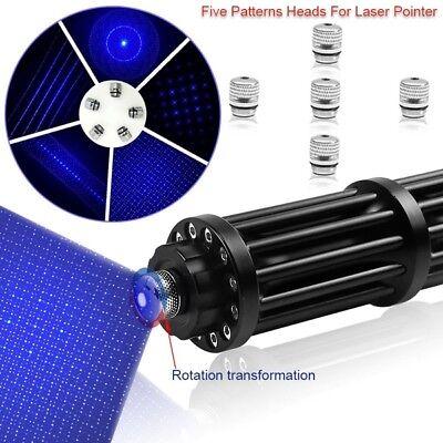WBY3-II 450nm High Power Blue Laser Pointer Visible Beam Burn  Lazer Pointer