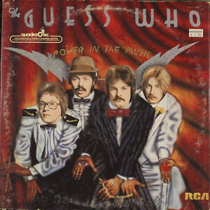 The Guess Who - Power in the Music Vinyl Record LP Oakville / Halton Region Toronto (GTA) image 1