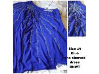 BLUE DRESS BNWT