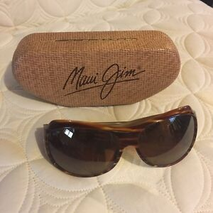 Women's Maui Jim polarized tortoise frame sunglasses