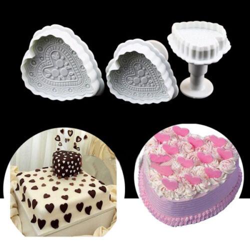 Embossed Fancy Bundt Savarin Cake Tins Pan Silicone Mold