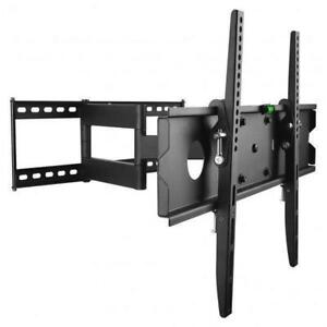FULL MOTION TV WALL MOUNT BRACKET PROTECH FL-504 FOR 40 INCH -65 INCH TV BRACKET HOLD 50KG/110Lb $54.99
