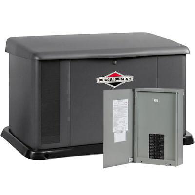 Briggs Stratton 20kw Standby Generator System 100a 16-circuit Ac Shedding