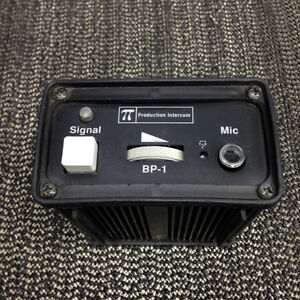 Production Intercom BP-1 Single Channel Belt Pack
