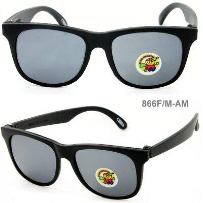 Baby Wayfarers (2 Pairs Cool Baby Toddler Kids Wayfare Sunglasses Frame Mirror UV400 Lens)