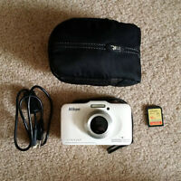 S31 Nikkon Coolpix Waterproof camera