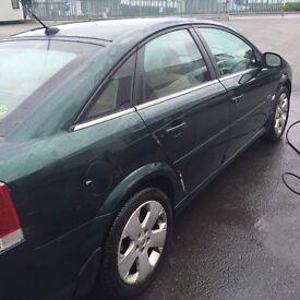 Vauxhall vectra 2.2 elite