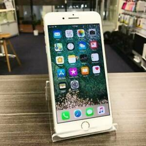 IPHONE 8 PLUS 64GB SILVER UNLOCKED WARRANTY MINT CONDITION