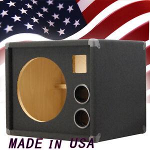 1x12 w tweeter empty bass guitar speaker cabinet. Black Bedroom Furniture Sets. Home Design Ideas