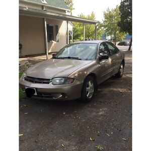2004 Chevy Cavalier (LOW KMS)