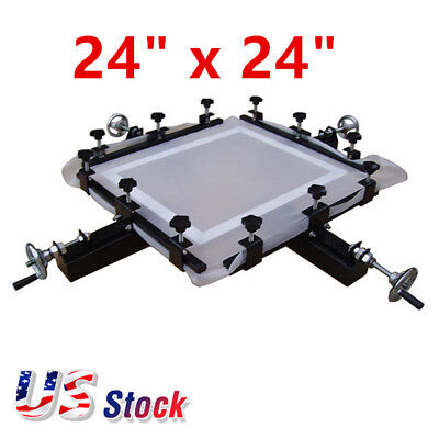 24 X 24 High Precise Screen Stretching Machine Screen Printing Stretcher Usa