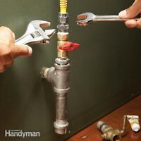 Gas Appliance hook-up
