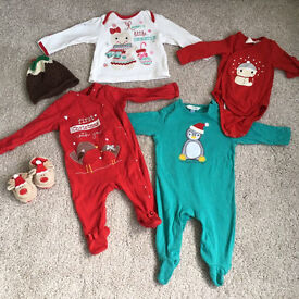 'My First Christmas' baby clothes