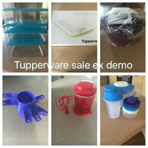 Tupperware ex demo clearance Camira Ipswich City Preview