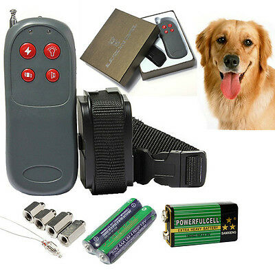 small med dog training shock vibrate collar trainer safe for pet. Black Bedroom Furniture Sets. Home Design Ideas