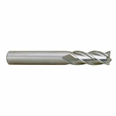 """TTC D40-ST 1//8/""""-1//2/"""" 6 Pc M42 Cobalt 2 Flute Single End Mill Set"""
