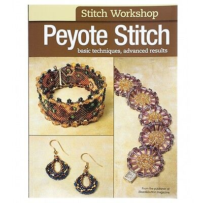 Peyote Stitch Jewellery Making Book | Basic Techniques Advanced Results (D18/8)