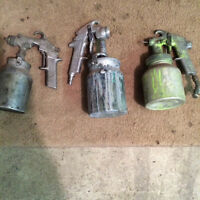 Spray paint guns deviblis