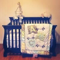 Little lamb baby bedding and canvas pictures