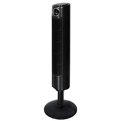 Ventilatore a Torre Colonna Oscillante 45W Alto 107cm 3 Velocita' e Telecomando
