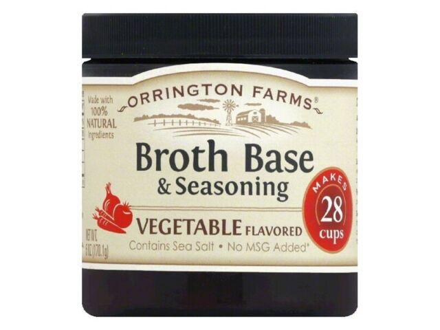 Orrington Farms Vegetable Flavored Soup Base 28 Servings