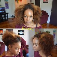 Weaves, Fauxlocs, Braids, Senegalese twist, Dreadlocks