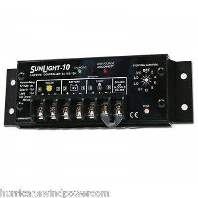 Morningstar Sl-10l-12v Sunlight -10 Amp 12 Volt Solar Charge Controller Wlvd