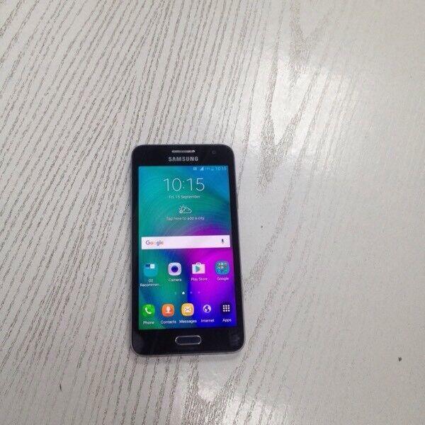 Samsung galaxy A3 Black 16 gb