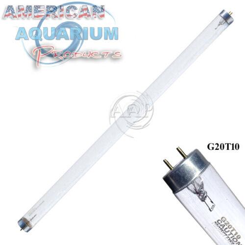G20T10 20 Watt UV bulb/lamp (two pin); fits Minjiang, USHIO, EIKO, Sankyom more