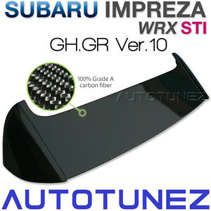 Carbon-Fiber-Roof-Spoiler-Lip-For-Subaru-Impreza-WRX-STI-GH-GR-Version-10-AT