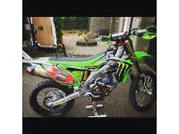 Kawasaki kxf 250 factory spec motocross bike 125 450