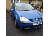 2005 VW GOLF 1.9 TDI FSH 1 OWNER !! NEWRY!!