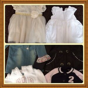 Girls dresses and jackets