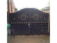 Metal Iron Gates