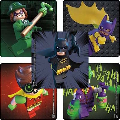 25 LEGO Batman Stickers Party Favors Teacher Supply Robin Joker Cat Woman - Jokers Party Supplies